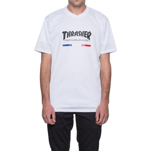 Picture of Thrasher TDS Jersey White
