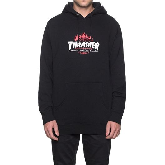 Picture of Thrasher Tour De Stoops Hood Black