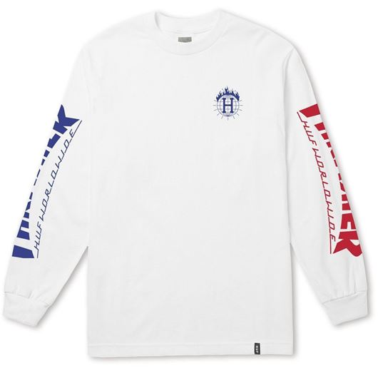 Picture of Thrasher TDS L/S Tee White