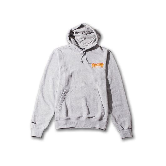 Picture of FLAME PULLOVER HOODED SWEATSHIRT Heather