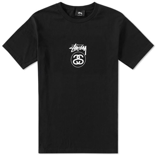 Picture of Stock Linke Tee Black