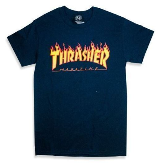 Picture of FLAME S/S Tee Navy