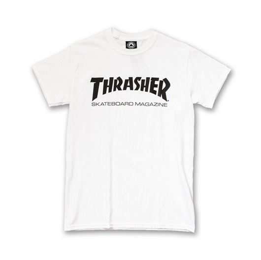Picture of SKATE MAG Tee White
