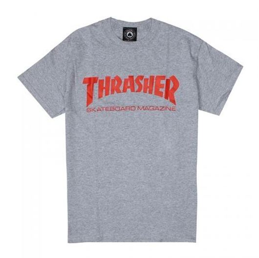 Picture of SKATE MAG Tee Grey