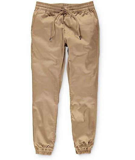 Picture of RUNNER Pants Tan
