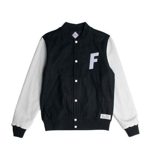 Picture of VARSITY Jacket Black