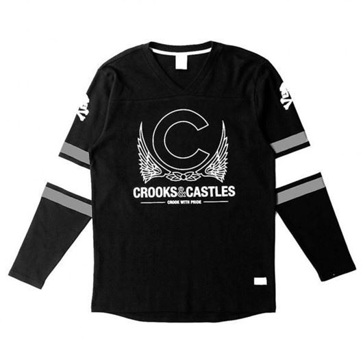 Picture of Crookin Jersey Black