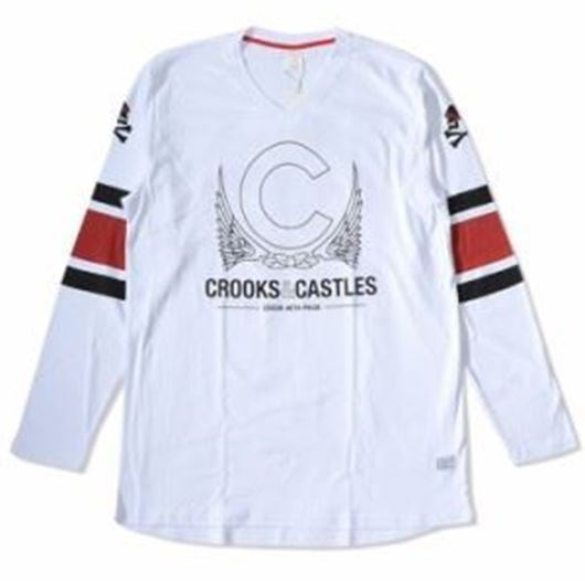 Picture of Crookin Jersey White