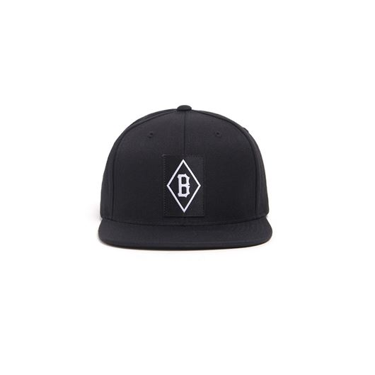 Picture of LABEL B SNAPBACK Black