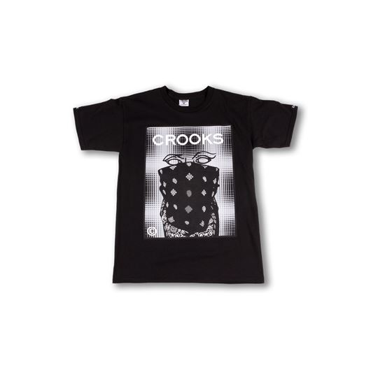 Picture of Crookset Tee Black
