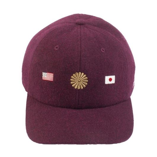 Picture of NITE RIDER Snapback Burgundy