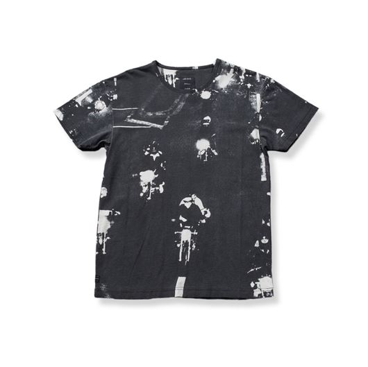 Picture of NIGHT RIDE TEE Black