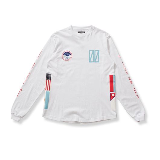 Picture of SUMMIT L/S TEE White