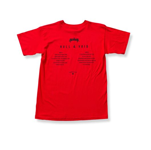 Picture of NULL INTENT TEE Red