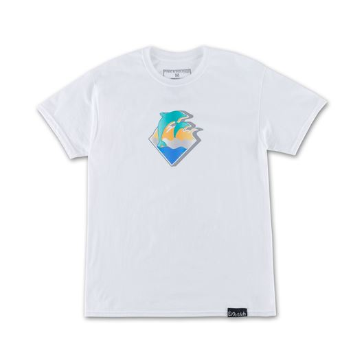 Picture of CHROME WAVES TEE White