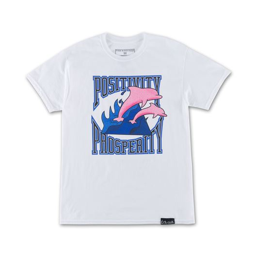 Picture of POS PRO WAVES TEE White