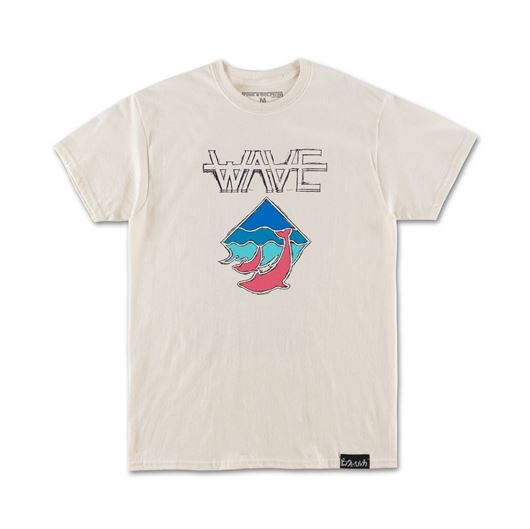 Picture of WAVE TEE Off-White