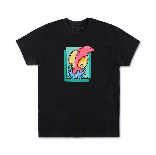 Picture of LEAP TEE Black