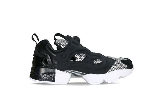 Picture of Black Scale X Reebok Instapump Fury Og Black