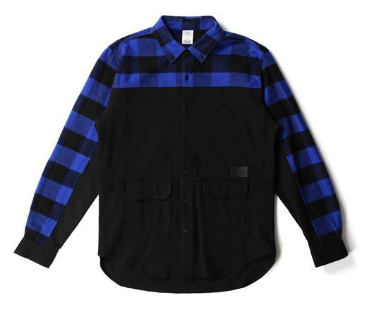 Picture of Parker L/S Shirt Black