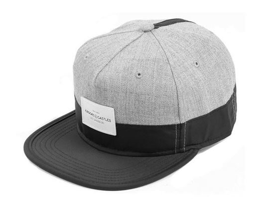 Picture of Crooks Snapback Speckle Grey/Black