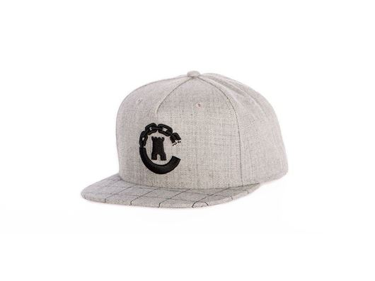 Picture of Hybrid C Grid Snapback Speckle Grey