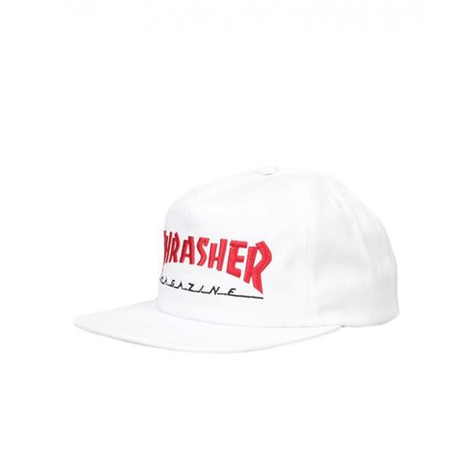 Picture of MAGAZINE LOGO TWO-TONE HAT White/Red