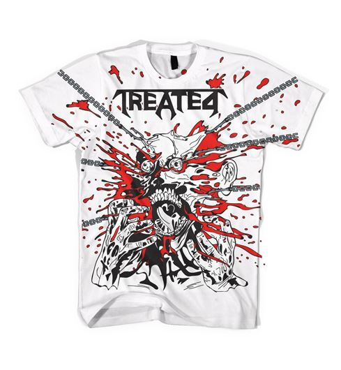 Picture of TREATED WORLD TOUR Tee White