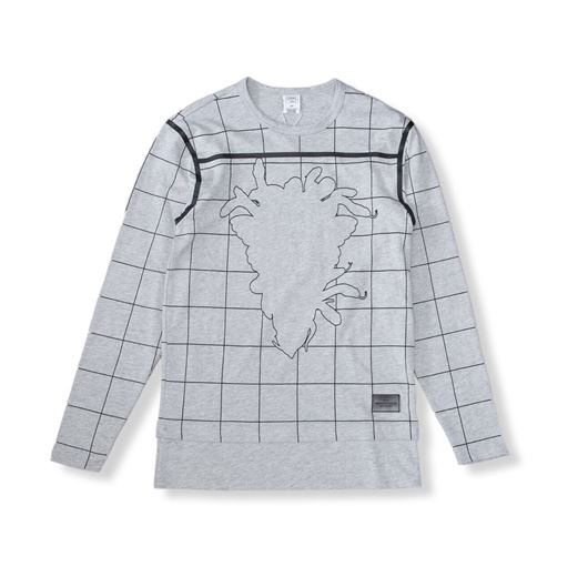 Picture of Blotter L/S Tee Heather Grey