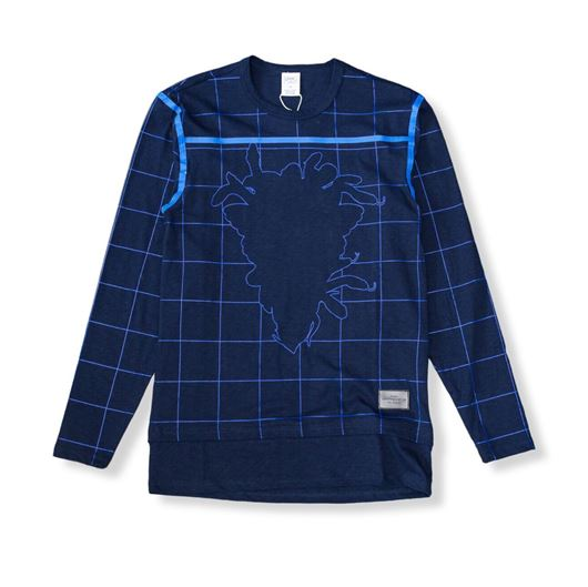 Picture of Blotter L/S Tee Navy