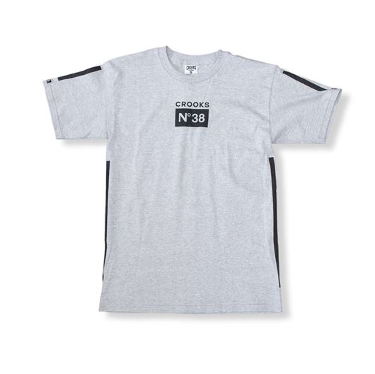 Picture of Prime No 38 Tee Heather Grey
