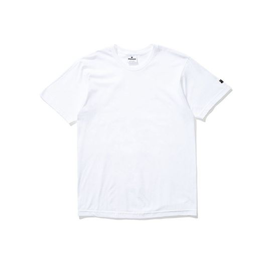 Picture of Felt patch strike tee White
