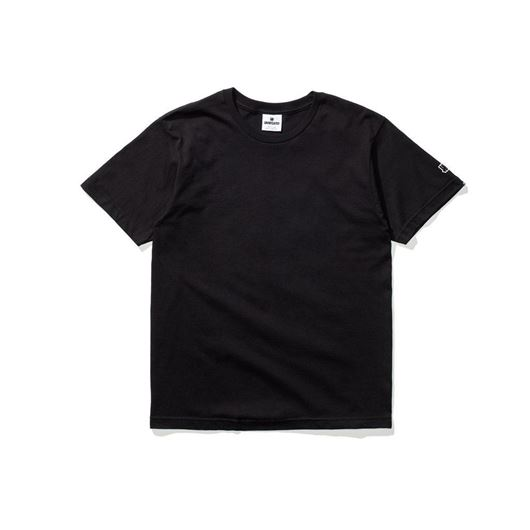 Picture of Felt patch strike tee Black