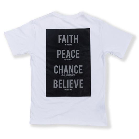 Picture of Words Tee White