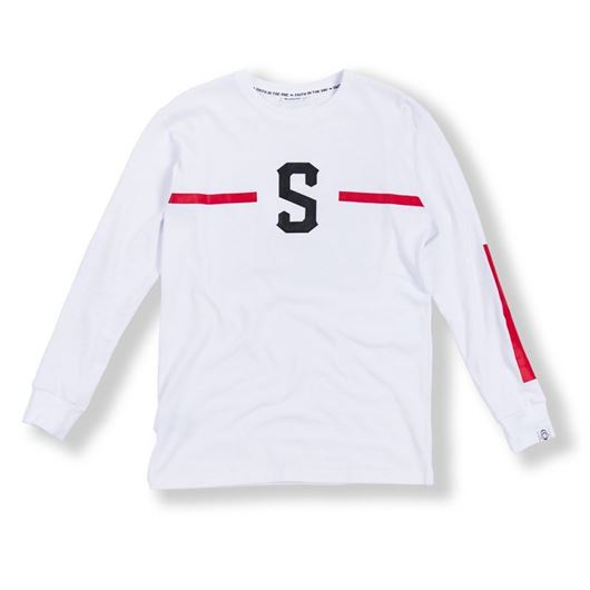 Picture of S Knight L/S Tee White