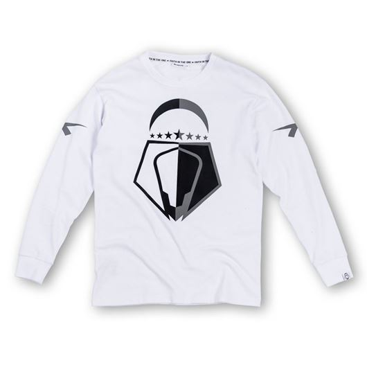 Picture of Overlap L/S Tee White