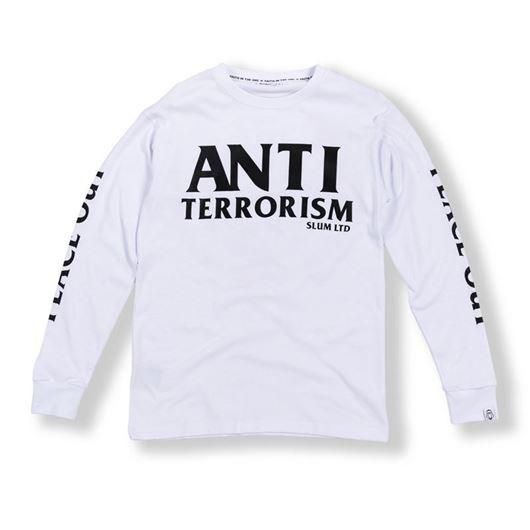 Picture of Anti Terrorism L/S Tee White
