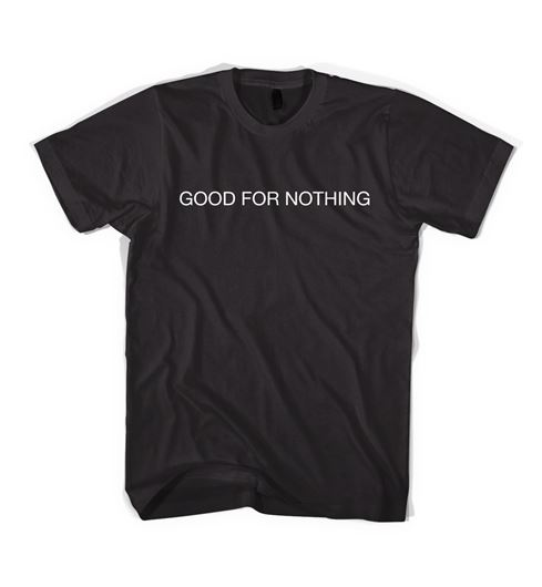 Picture of GOOD FOR NOTHING T-SHIRT Black