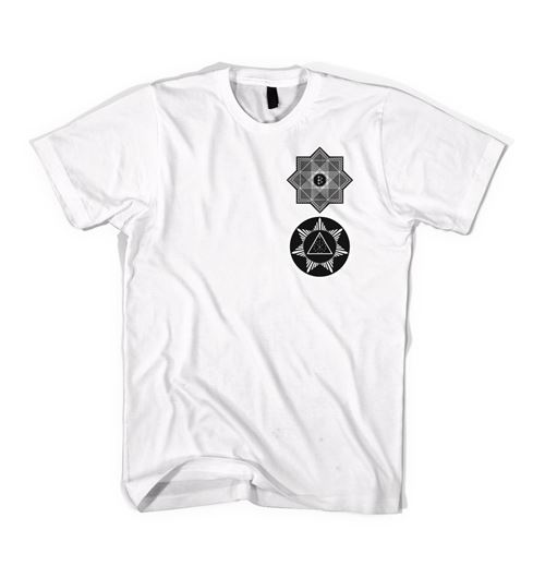 Picture of TREDIC X STAR T-SHIRT White