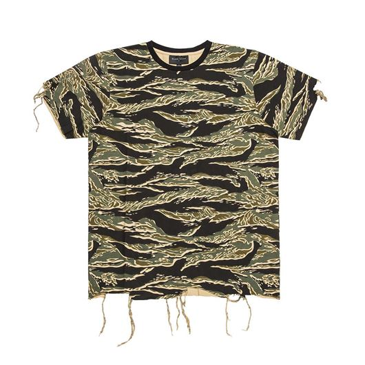 Picture of DESTROYED T-SHIRT Tiger Camo