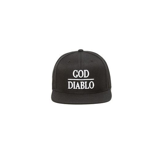 Picture of GOD DIABLO SNAP BACK Black