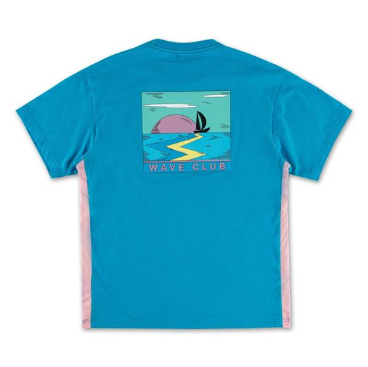 Picture of WAVE CLUB WINDBREAKER TEE SAPPHIRE