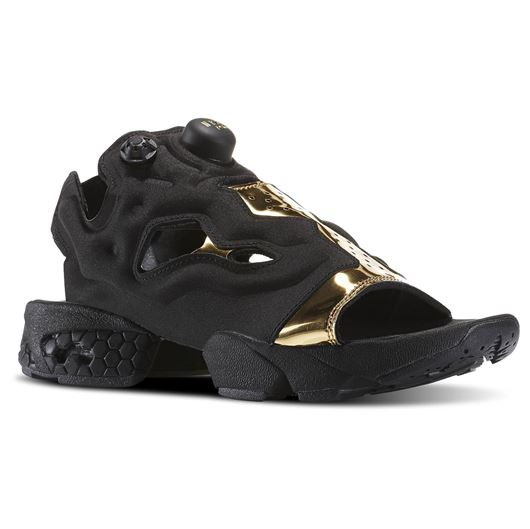 Picture of instapump Fury Sandal Womens Black/Gold