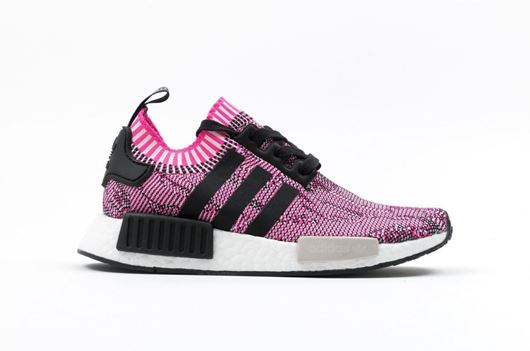 Picture of NMD R1 W PK Pink/Black/White