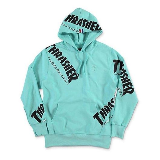 Picture of Thrasher TDS Allover Hood Mint