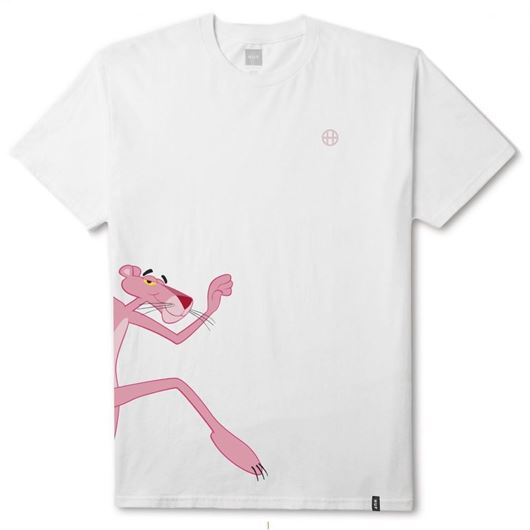 Picture of HUF x PINK PANTHER RUN SS TEE White