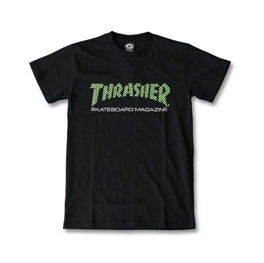Picture of CHECKER SKATE MAG Tee Black