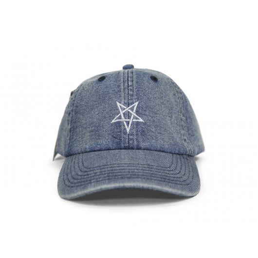 Picture of PENTAGRAM DAD HAT WASHED DENIM NAVY
