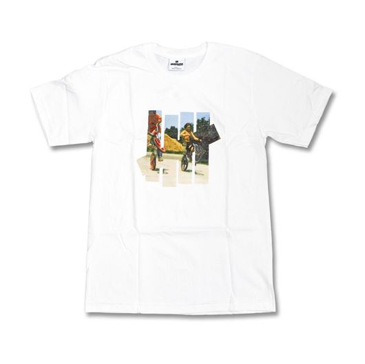 Picture of 5strike Free Wheel Tee White