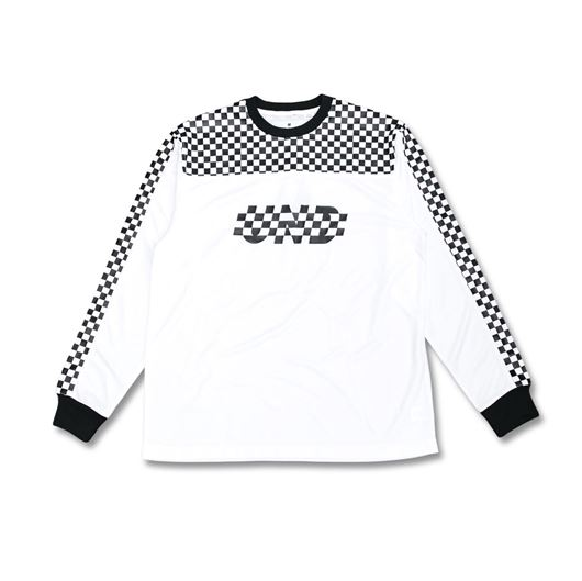 Picture of Finish Line LS Jersey White